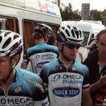 Cavendish, ni bien terminó el Tour