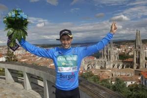 Ganador de las Metas Volantes en la reciente Vuelta a Burgos