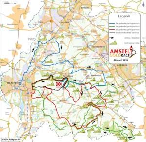 Amstel-Gold-Race-mapa