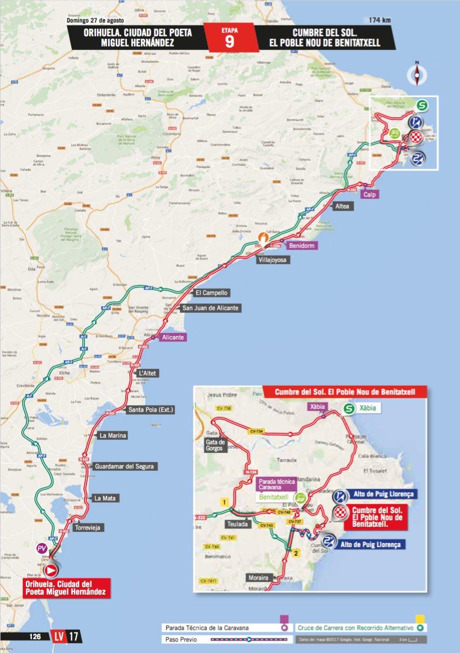 Vuelta A España 2017 Stage 9 Preview Ciclismo Internacional