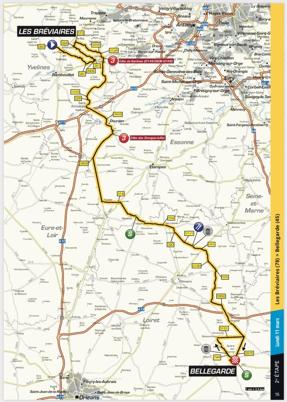 Paris Nice 2019 Stage 2 Preview Ciclismo Internacional