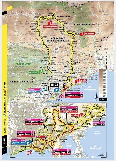 Tour De France 2020 Stage 2 Preview Ciclismo Internacional
