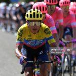 EF reveló su '8' para el Giro, con el campeón ecuatoriano Jonathan Caicedo