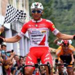 Jhonatan Restrepo y Alexander Cepeda irán al Giro d'Italia con Androni Giocattoli
