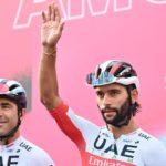 UAE Team Emirates confirma su '8' para el Giro, con un trío sudamericano