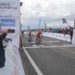 Burbano corona la fuga en Vuelta al Ecuador