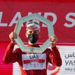 """Tadej Pogačar, feliz por obtener el UAE Tour: """"Espero seguir así en Strade Bianche"""""""