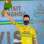 Brayan Sánchez sigue líder en Ruanda y Jhonatan Restrepo asciende al 3°