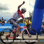 Ecuador tiene nuevo campeón de ruta: Alexander Cepeda le ganó el duelo a Byron Guamá