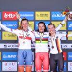 La rusa Alena Ivanchenko logra título mundial de crono en Junior femenino